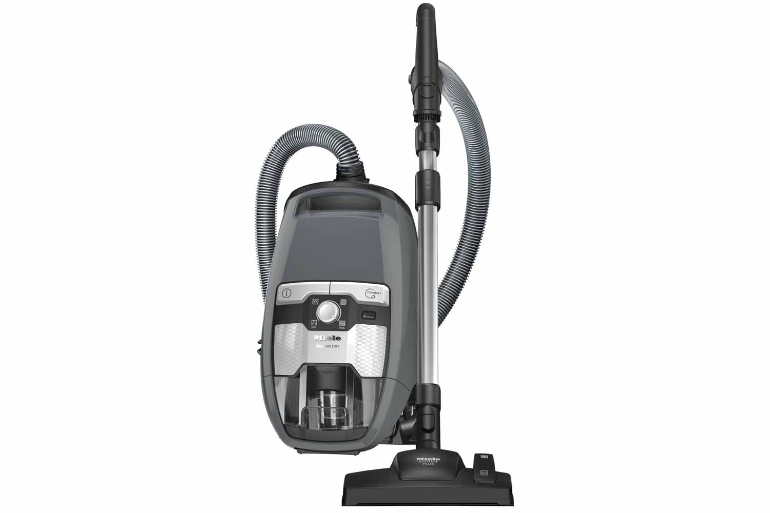 Miele Blizzard CX1 Excellence PowerLine - SKCF3  Bagless cylinder vacuum cleaners   with Eco Comfort handle and EcoTeQ Plus floorhead for optimum cleaning