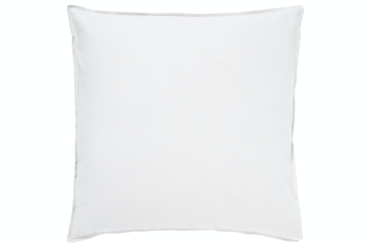Murmur 'Still' White Square  Pillowcase