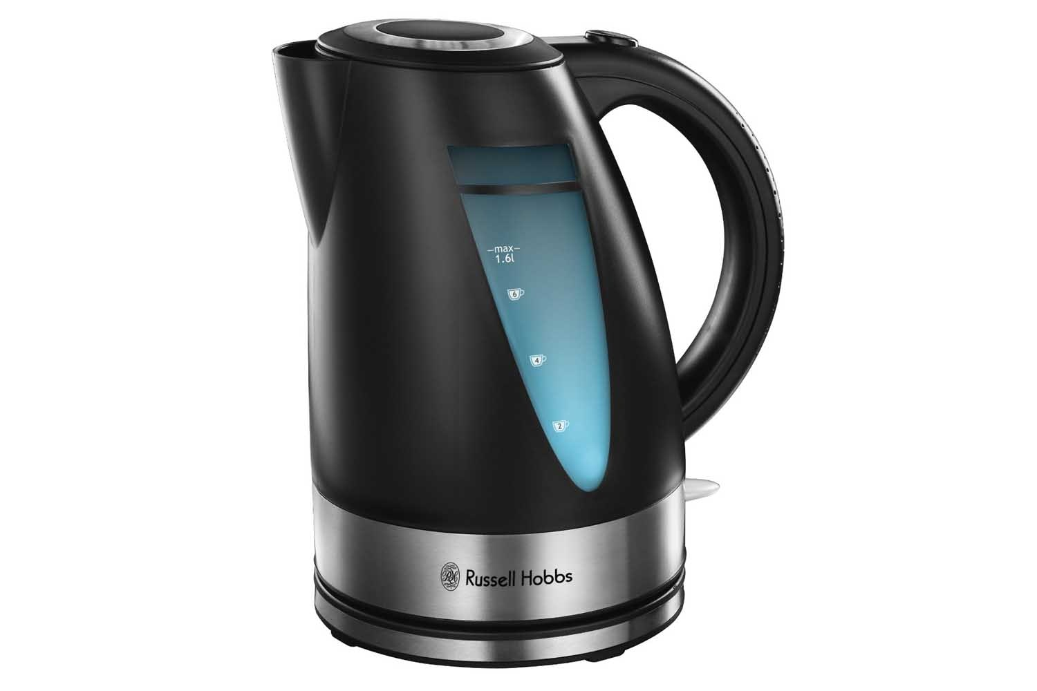 Russell Hobbs 1.6L Ebony Kettle | Black