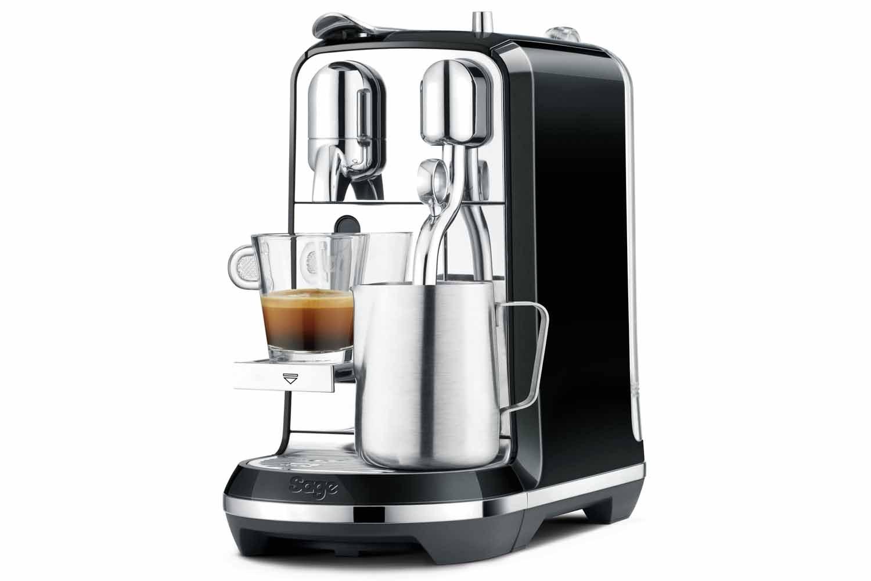 Sage Nespresso Creatista Coffee Machine | BNE600SLQ | Black