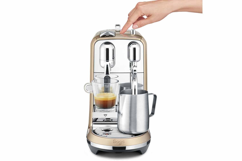Sage Nespresso Creatista Coffee Machine | BNE600RCH | Cappucino