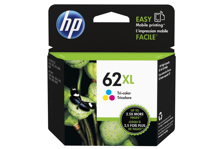 HP 62XL Tricolour Ink