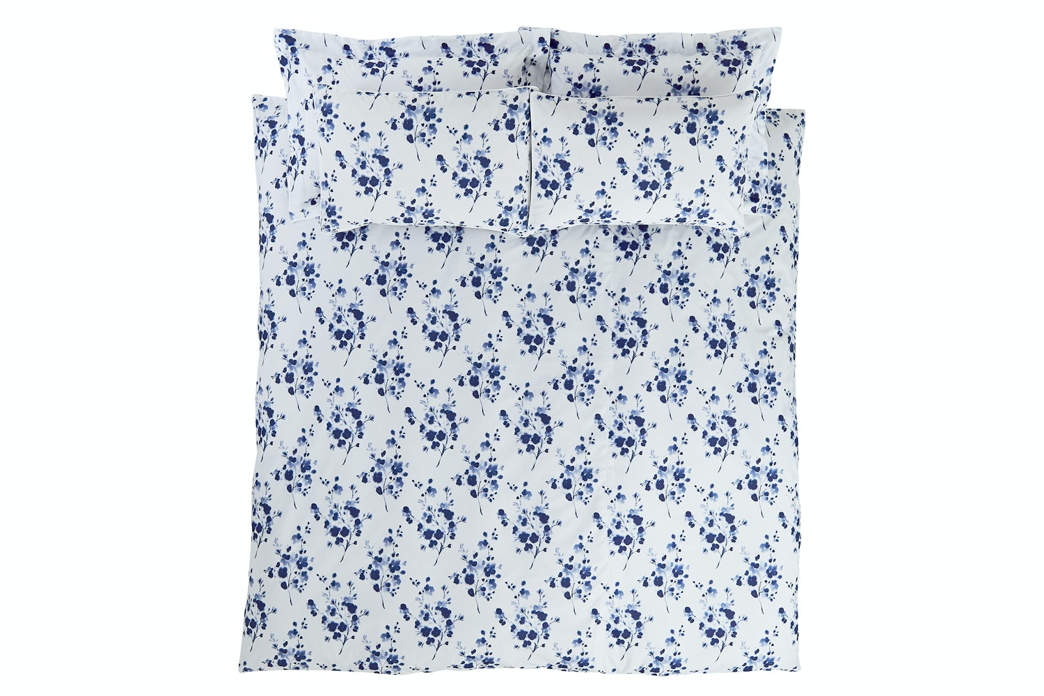 Sprig Cotton Blue | Double