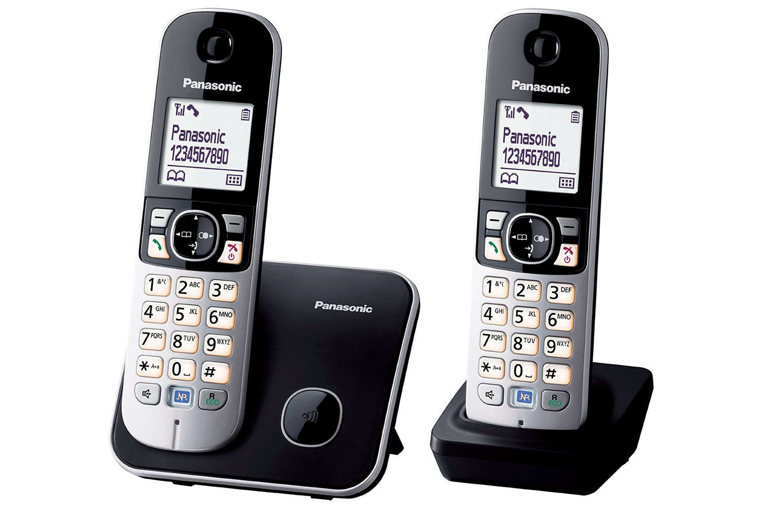 Panasonic 6812 DECT Cordless Phone | Twin Pack
