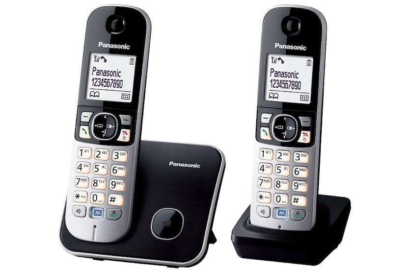 Panasonic KX-TG6812 Cordless Phone | Twin Pack