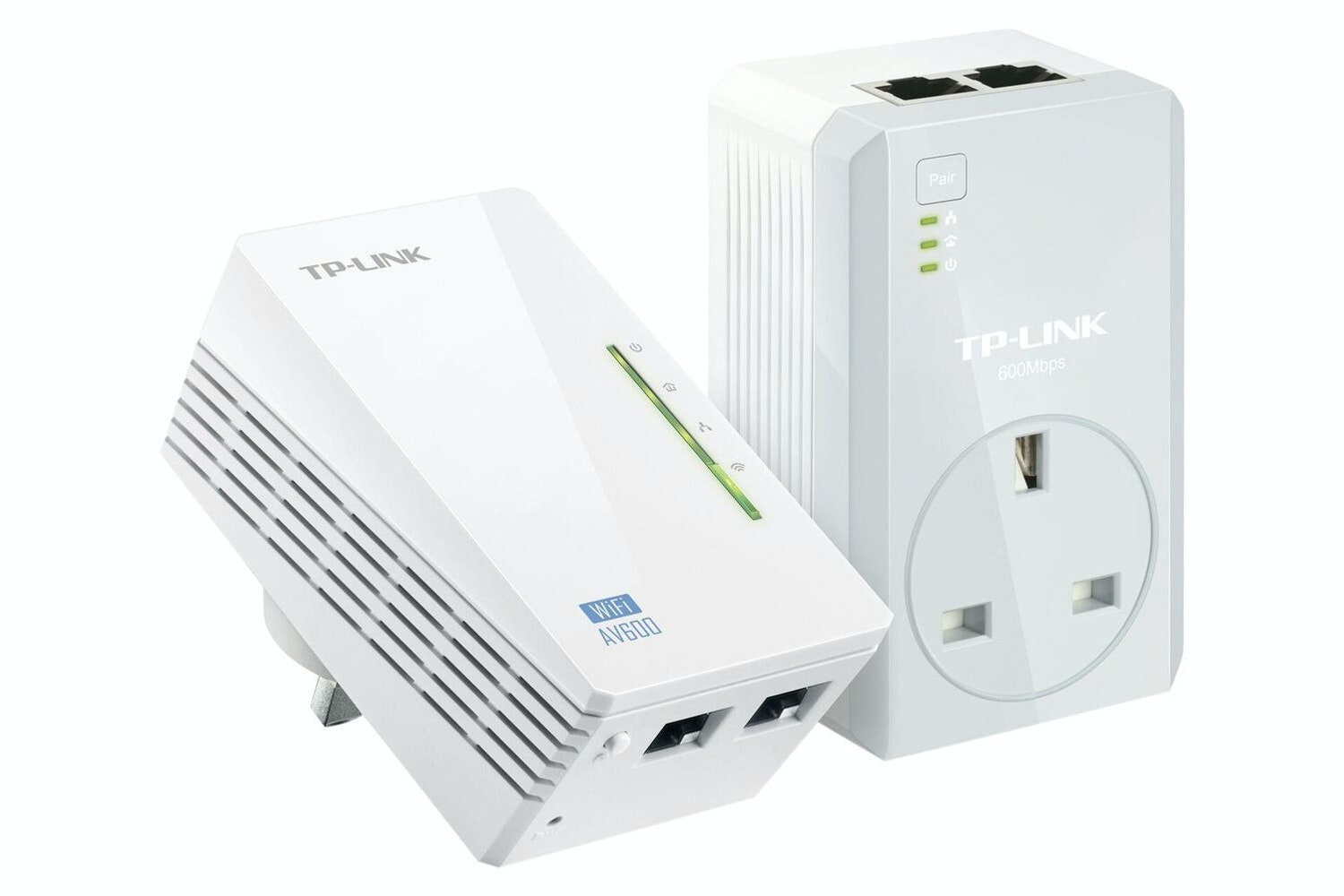 TP-Link AV600 N300 WIFI Powerline Passthrough Kit