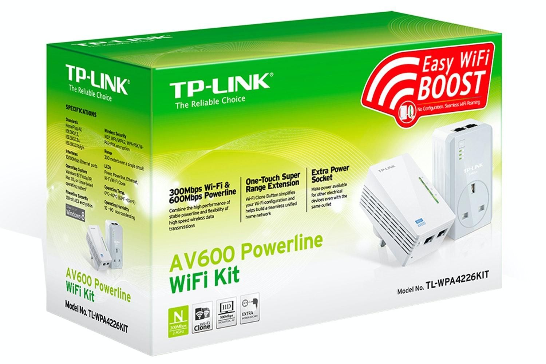 TP-Link AV600 N300 WIFI Powerline Passthrough Kit