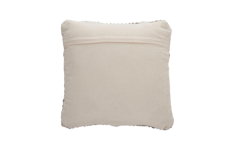 Check Wool Square Cushion