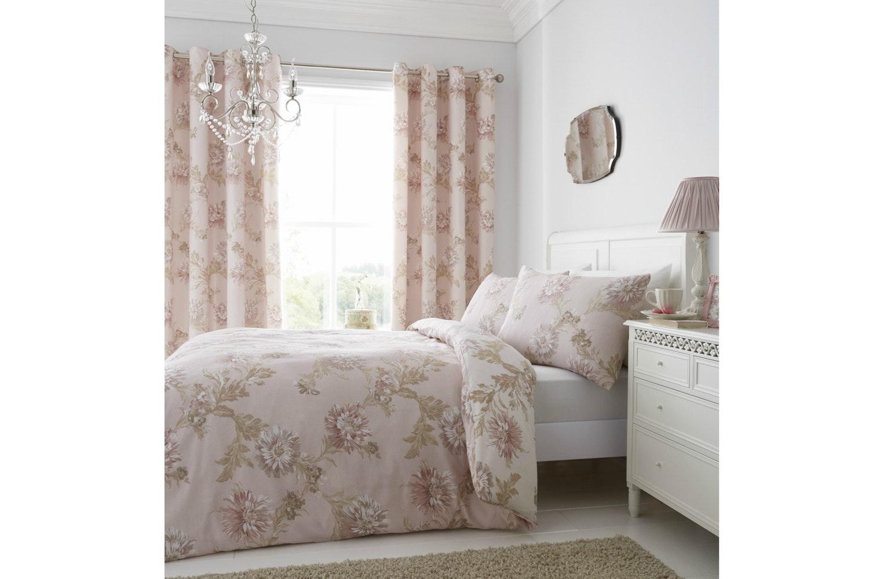 Chrysanthemum Blush Quiltset | King
