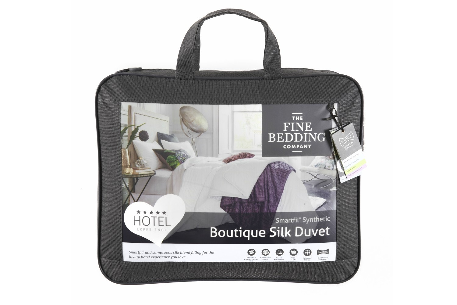 Boutique Silk 10.5 Tog Duvet  | Superking