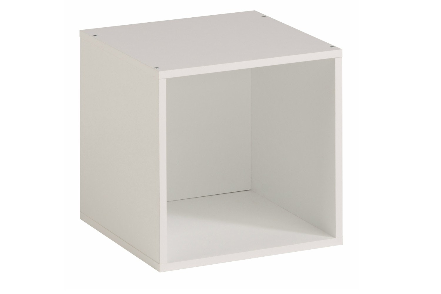 Kubikub 1 Cube Square Storage | White