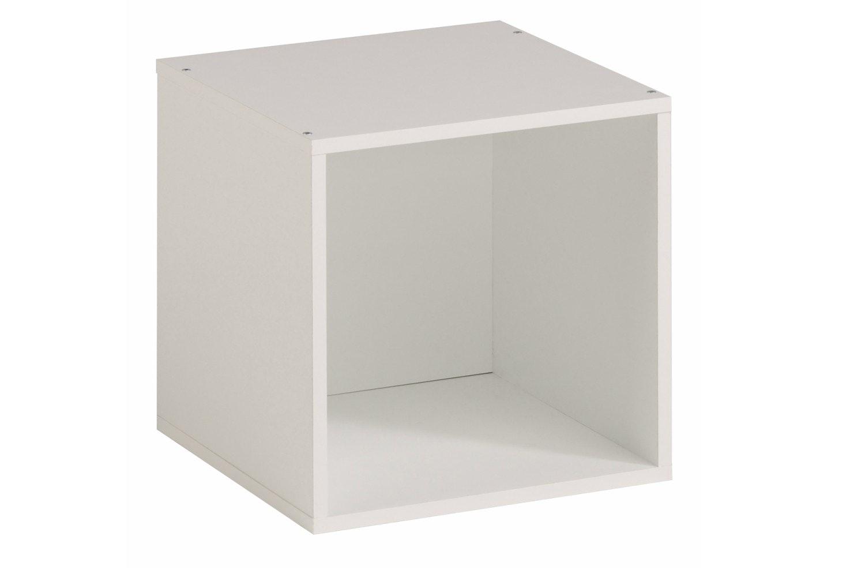 Kubikub 1 Cube Square Storage | White