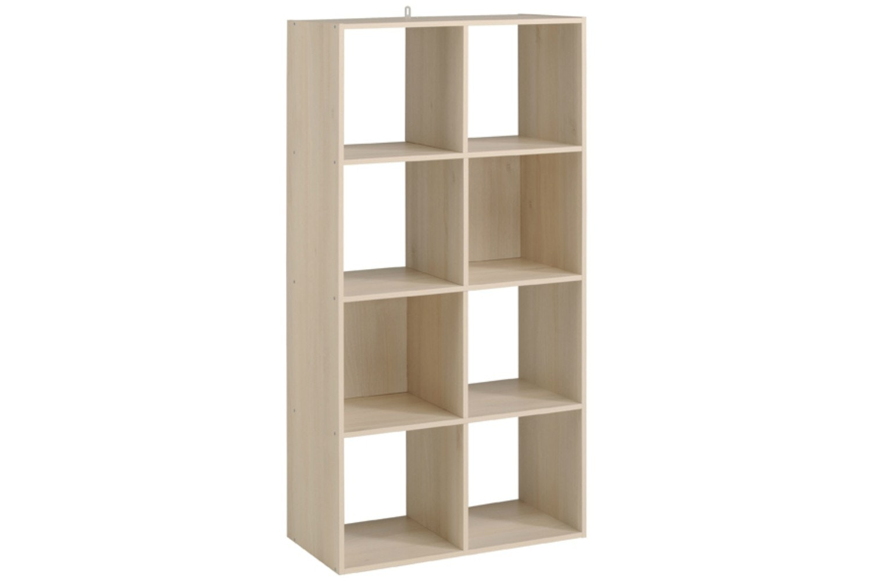 Kubikub 8 Cube Column Storage | Acacia