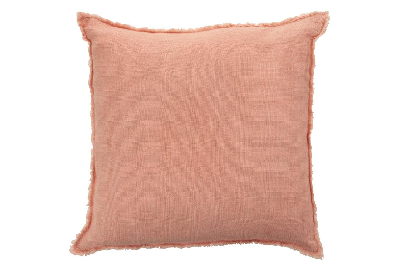 Linen Pink Cushion