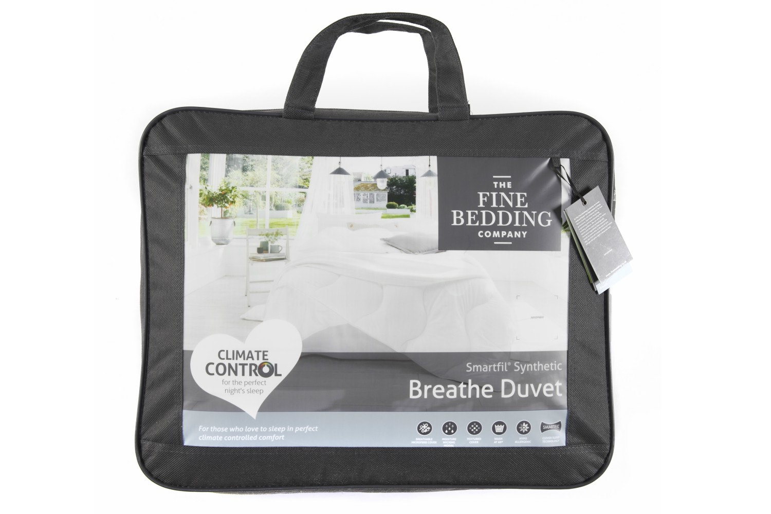 Breathe 13.5 Tog Duvet  | Double