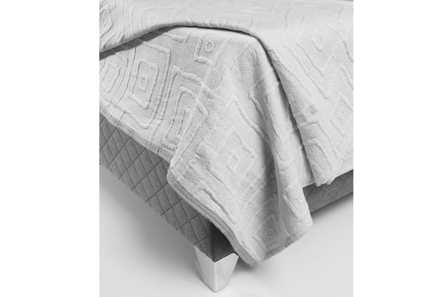 The Linen Room Lisbon Bed Spread | Grey
