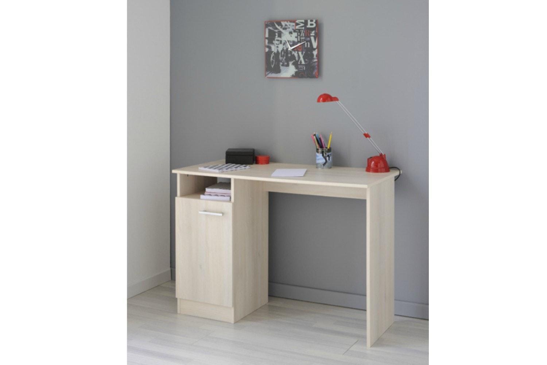 Infinity Study Desk 1 Door | White