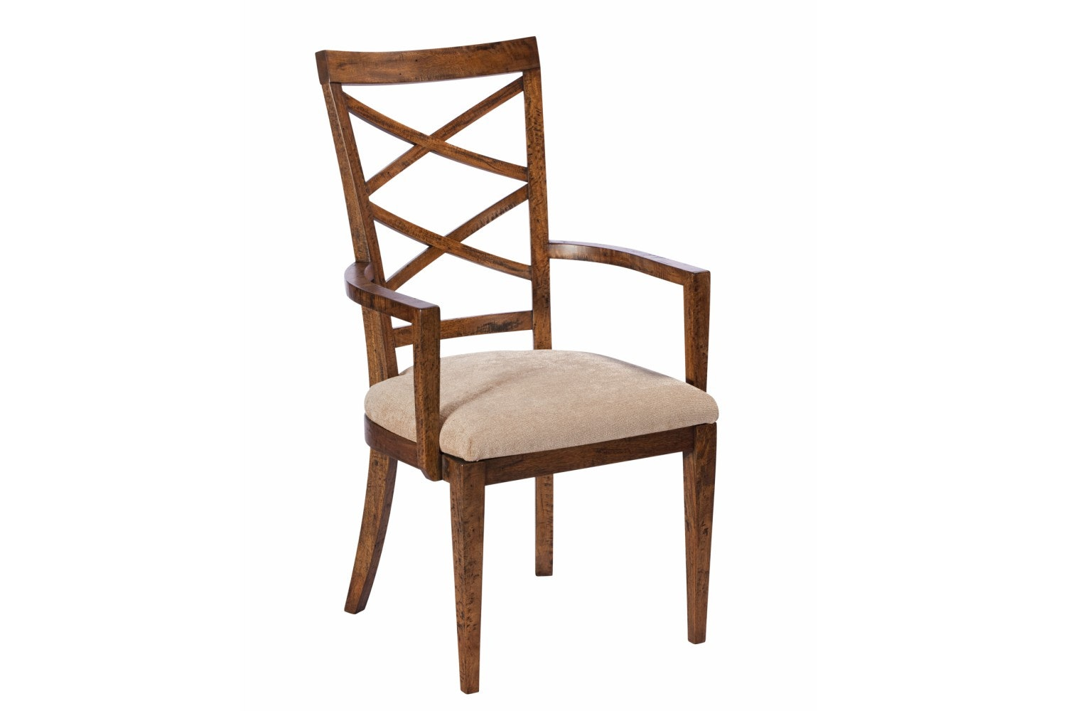 Mango Creek Upholstered Biedermeier Armchair