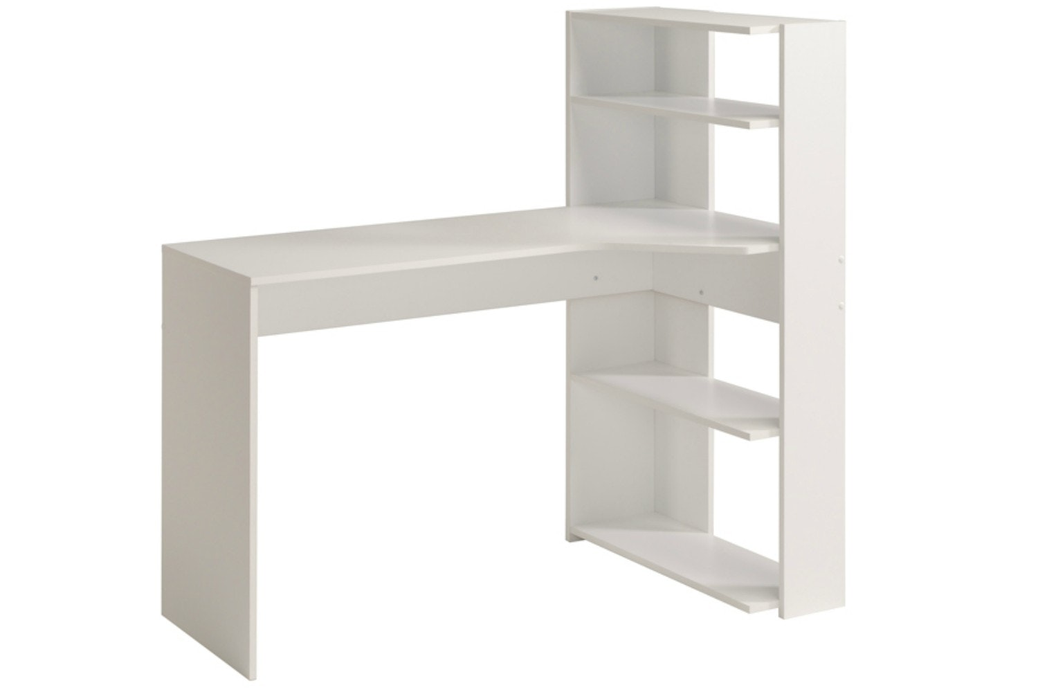 Mister Study Desk L-Shape | White