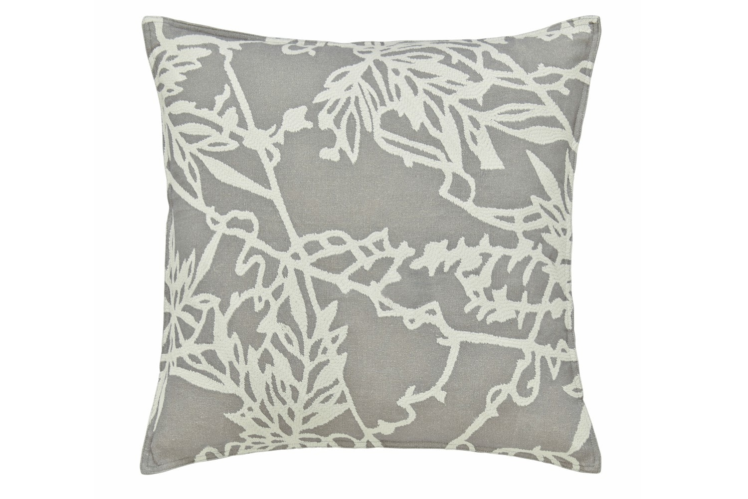 Murmur Etch Cushion Grey & Warm White