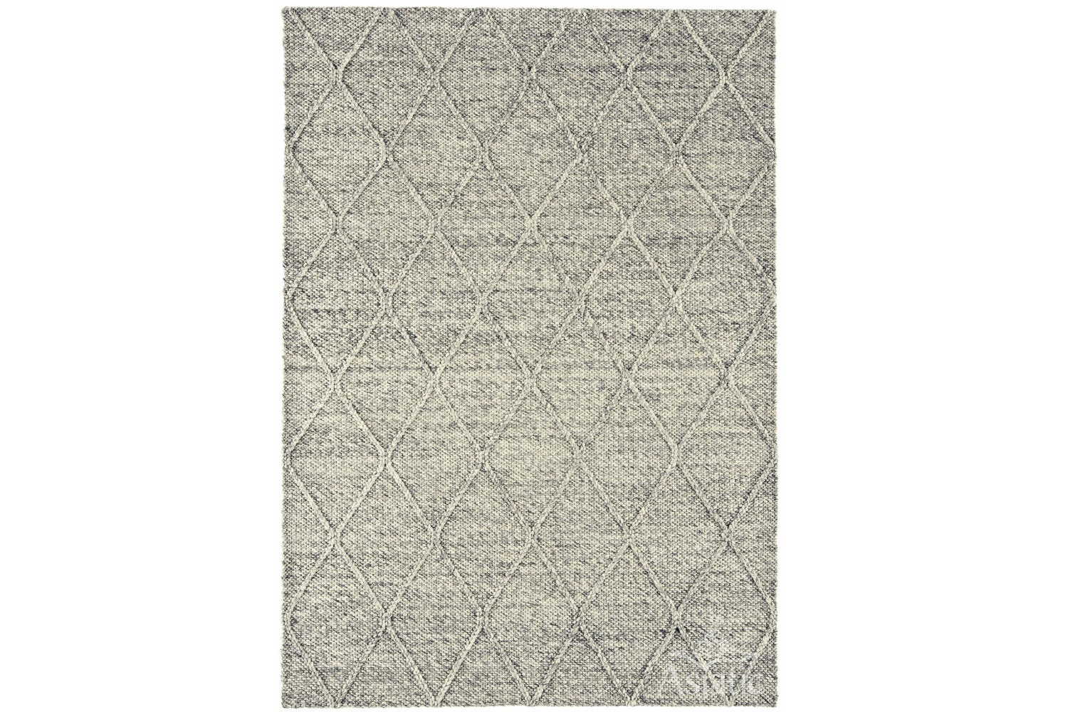 Katherine Carnaby Rug Coast Diamond | Grey
