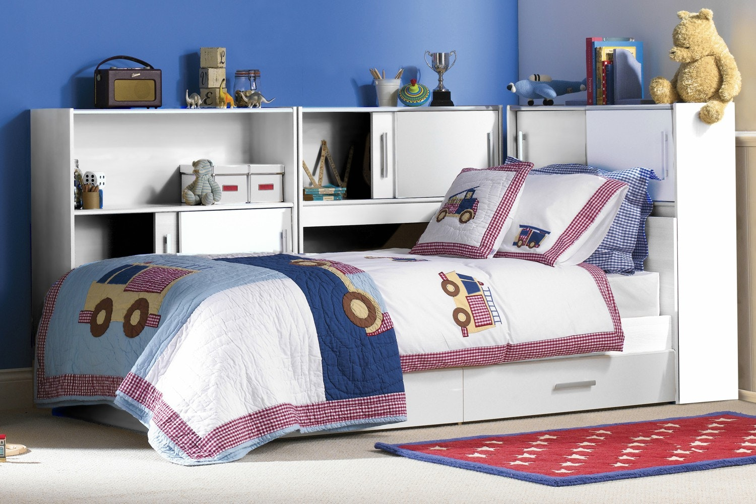 Snoop Storage Bed | White
