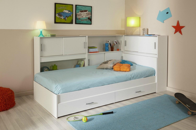 Snoop Storage Bed   White
