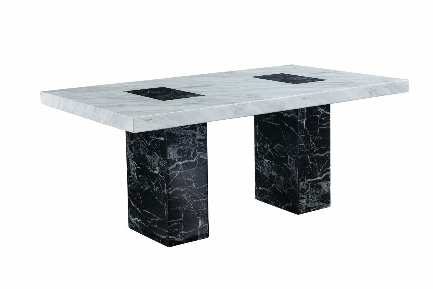 Strasbourg Dining Table | Black & White