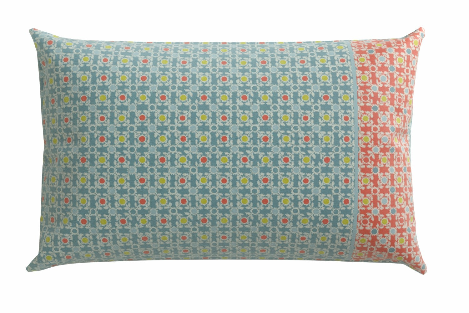 Tilly Housewife Pillowcase Paris Duckegg