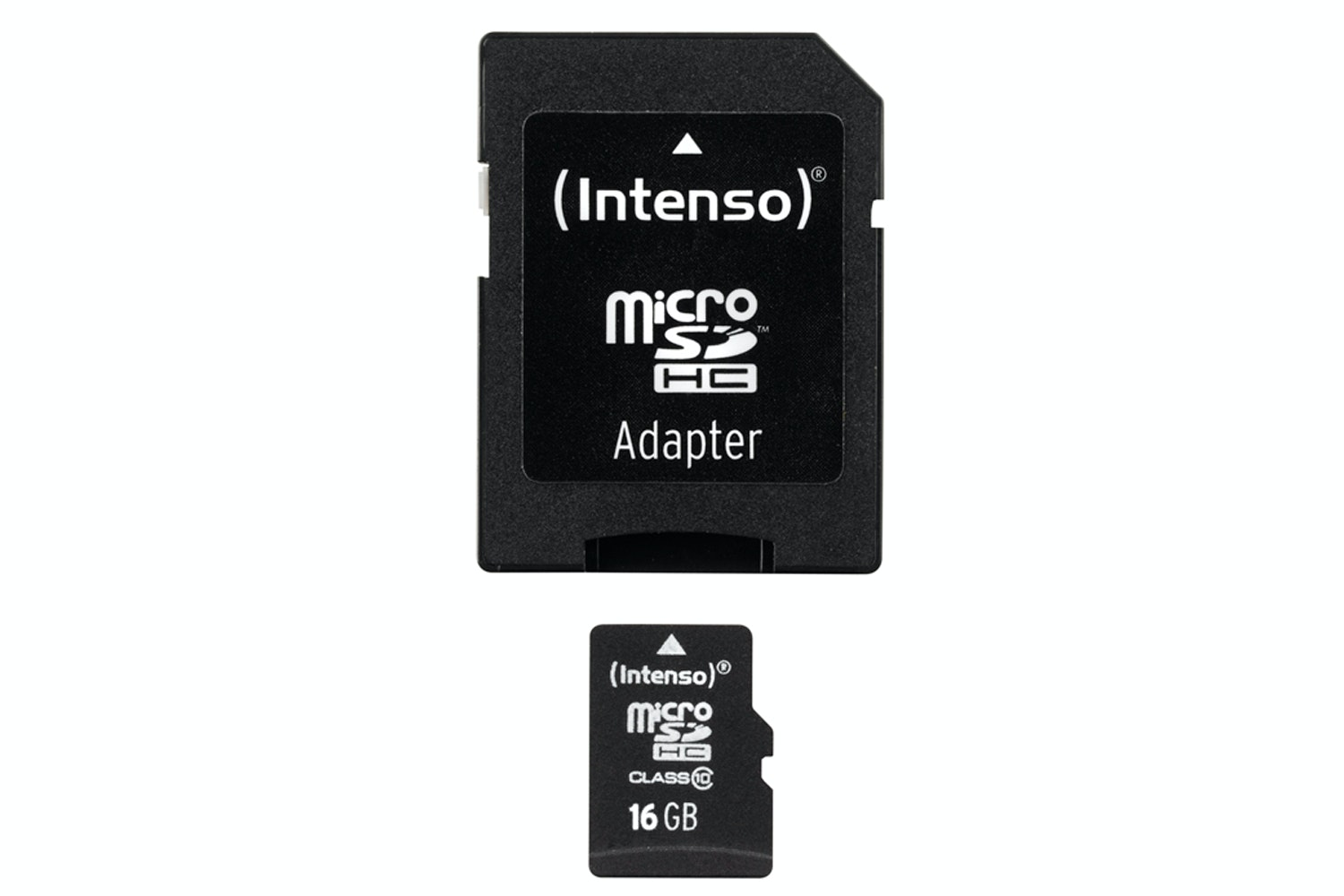 Intenso 16GB Micro SD Card and Adapter