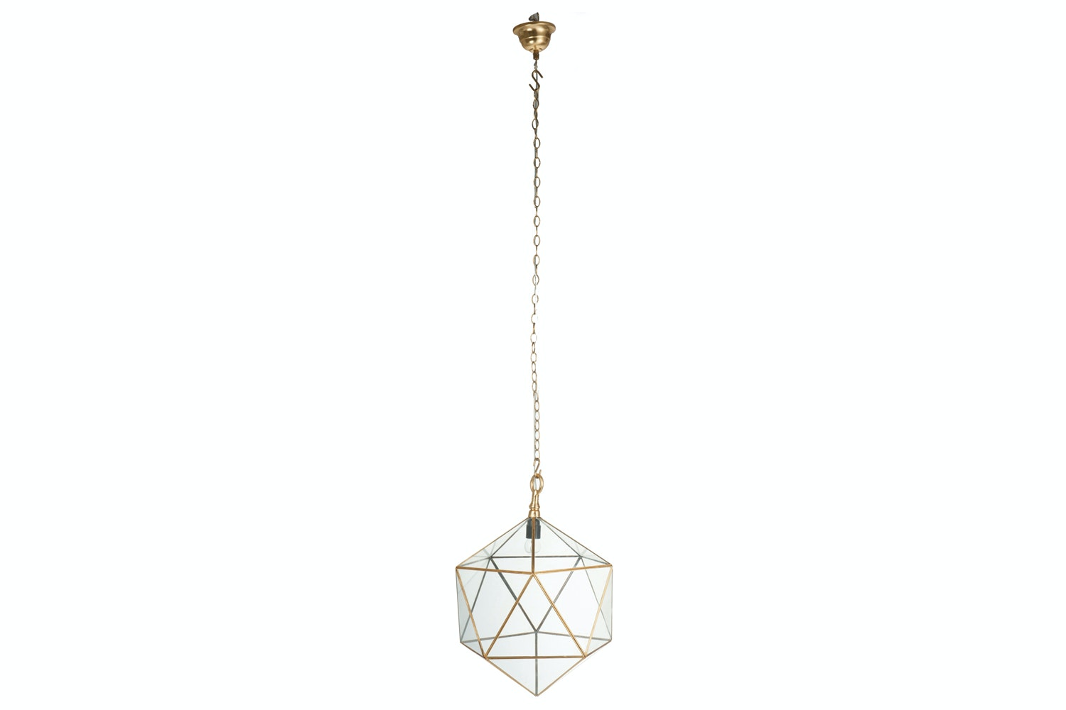 Small Geometric Ceiling Light