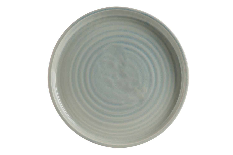 Plate Ceramic Grey & Beige | Large