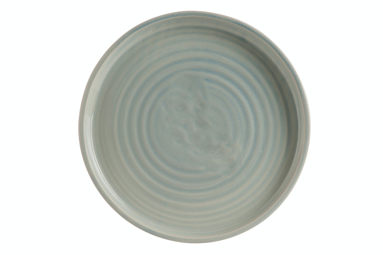 Plate Ceramic Grey & Beige   Large