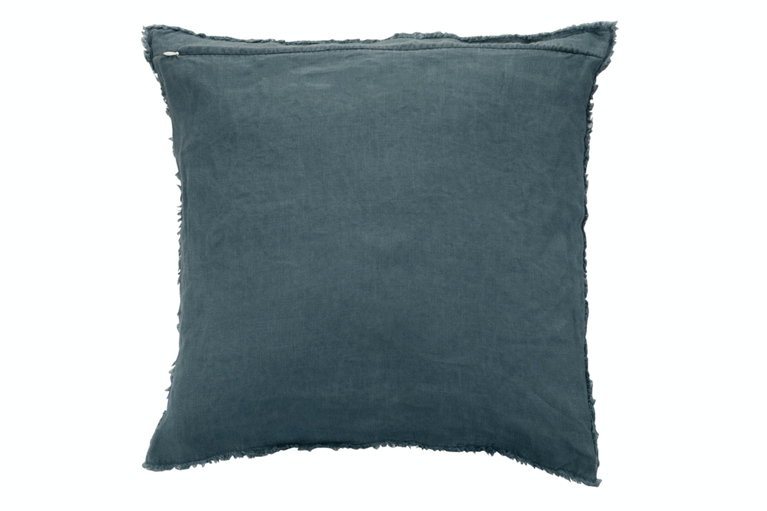 Linen Cushion Navy Blue