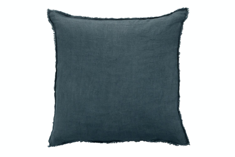 Linen Cushion Navy Blue
