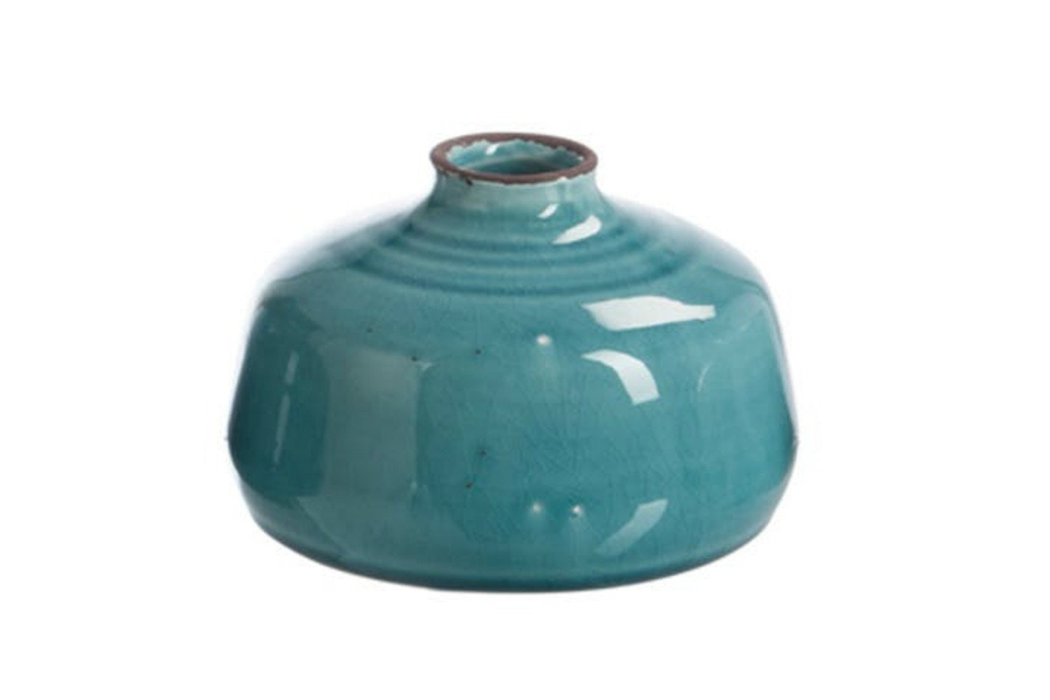 Blue Ceramic Vase | Small