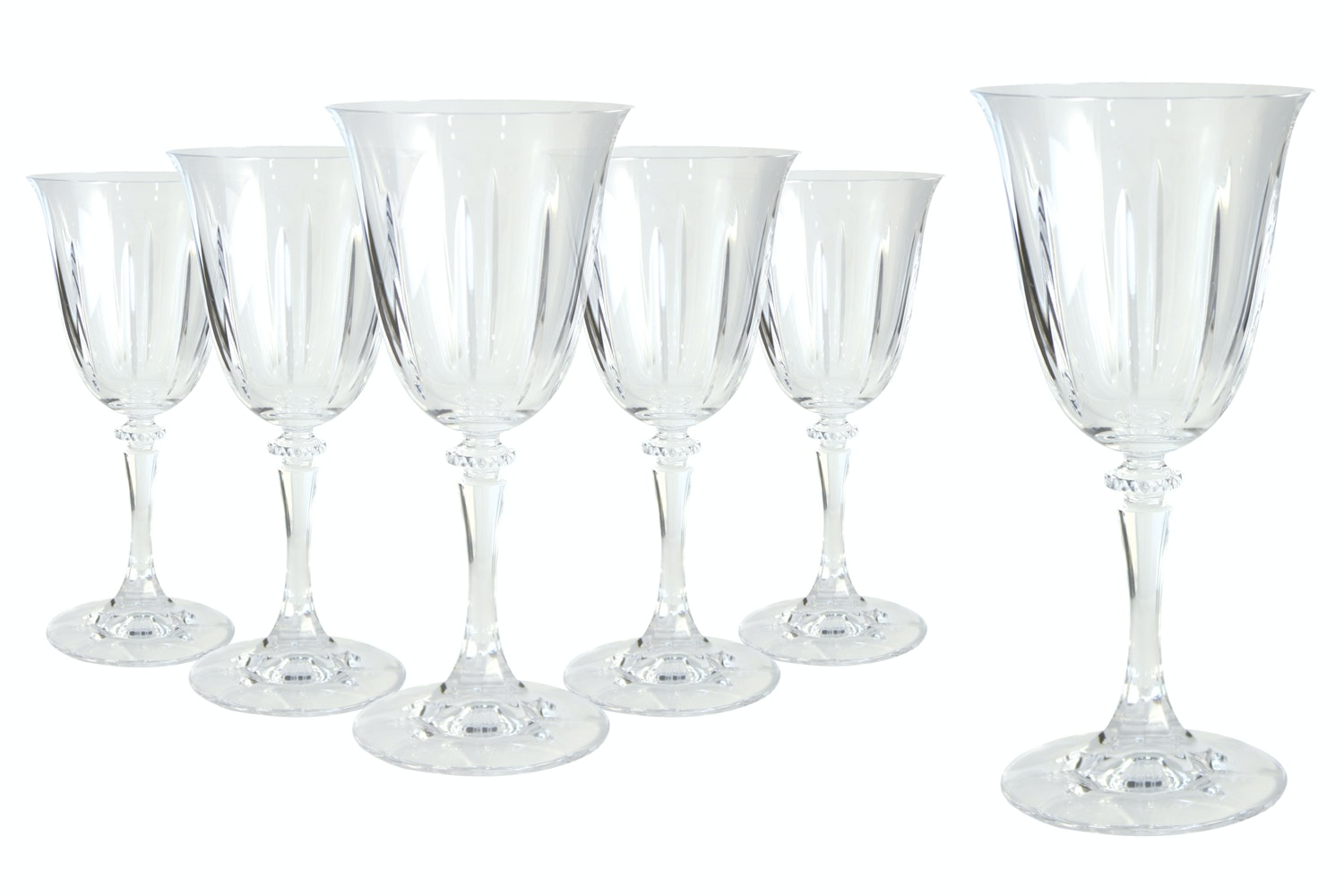 Tranquility Wine Glass Hat Box|Set of 6