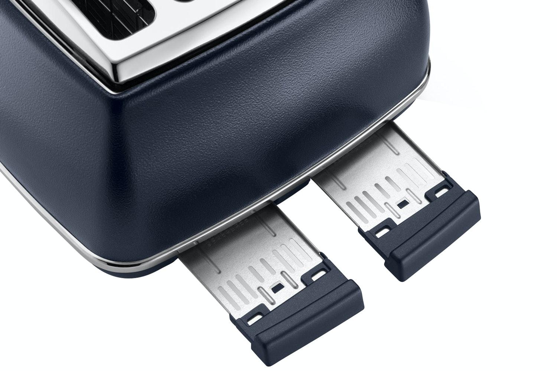 Delonghi 4 Slice Icona Elements Toaster | Blue