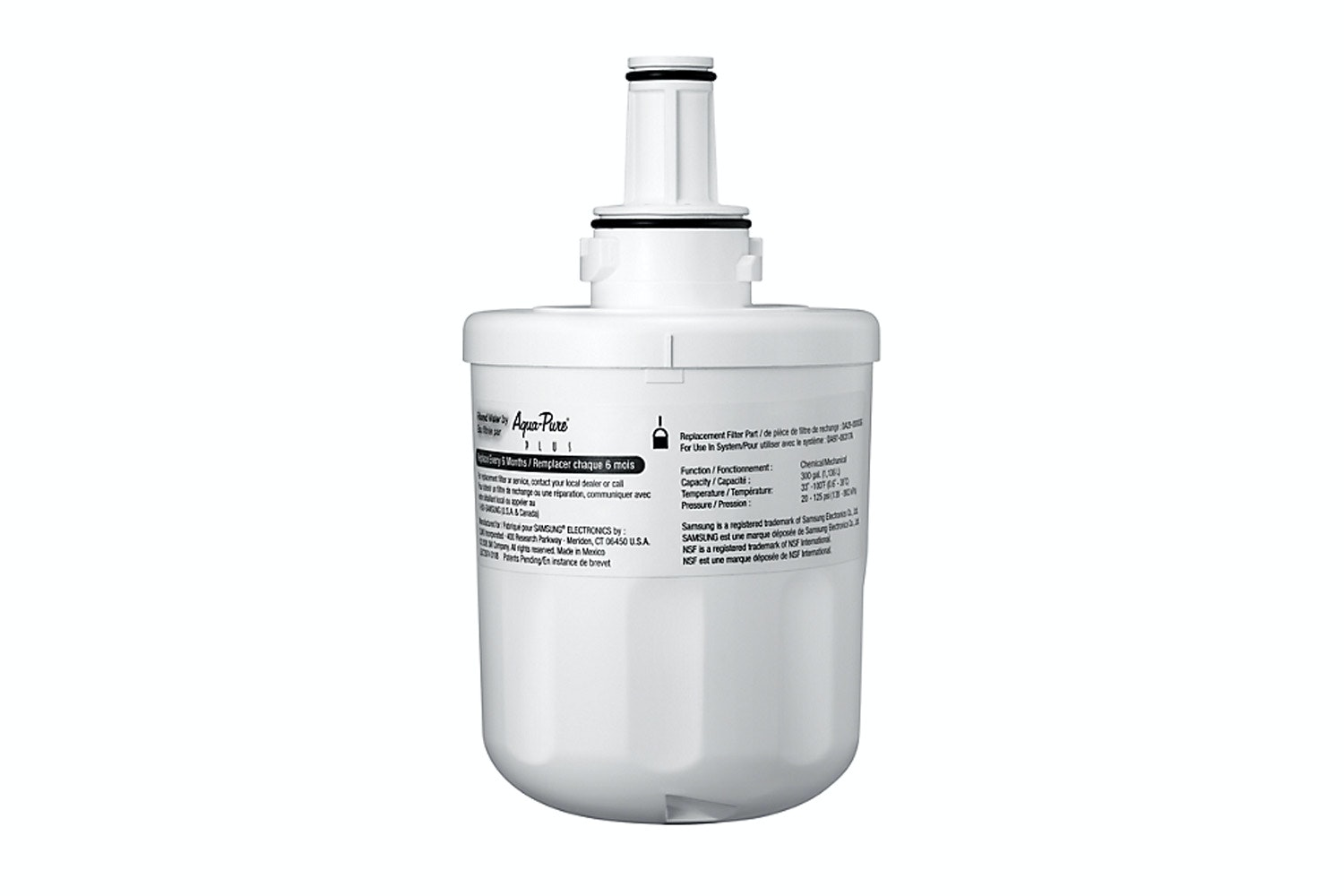 Samsung Aqua Pure Plus Refrigerator Water Filter