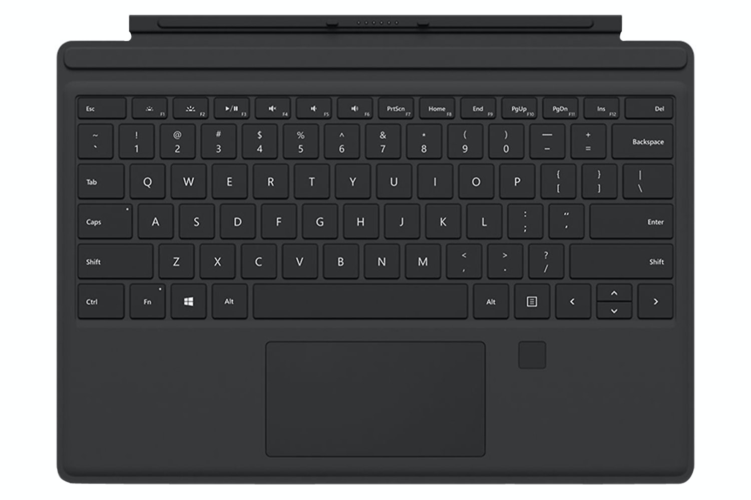 Surface Pro 4 Cover Fingerprint Reader