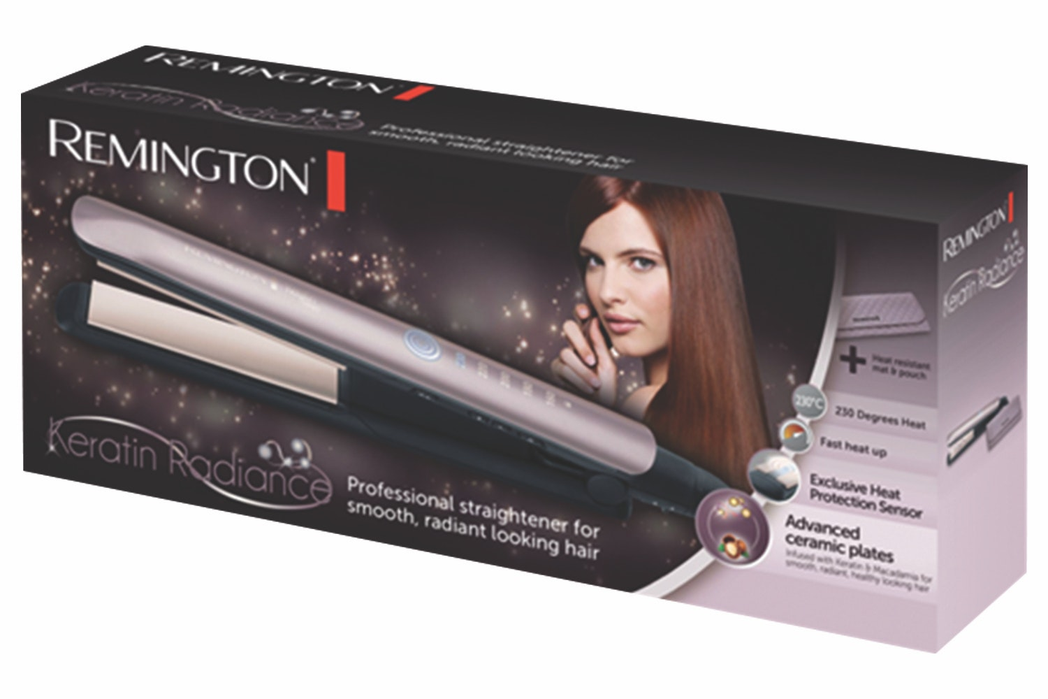 Remington Keratin Radiance Straightner