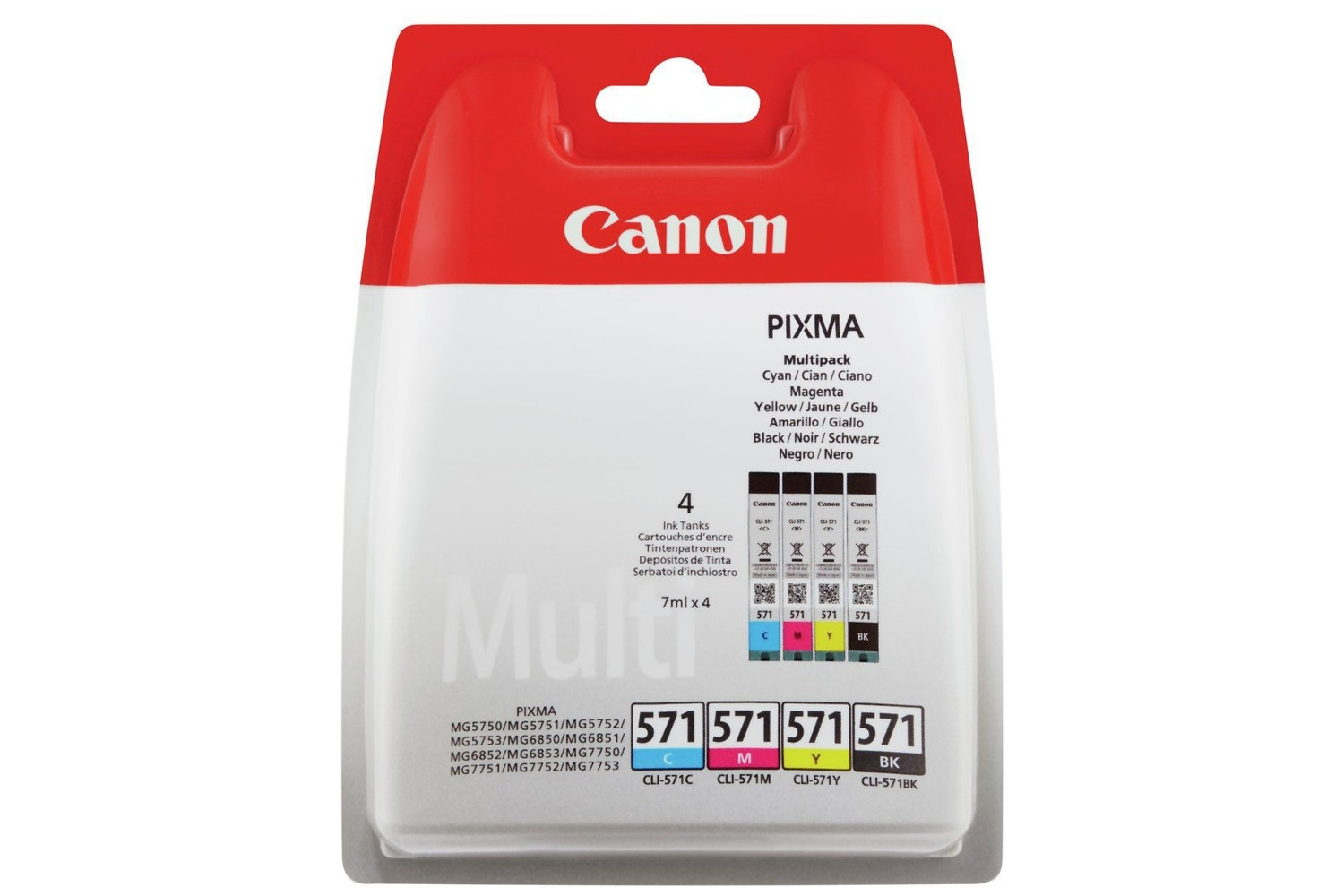 Canon CLI-571 Ink Multipack | 4 Pack