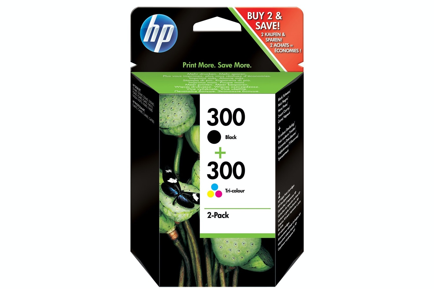 HP 300 Ink Combo Pack