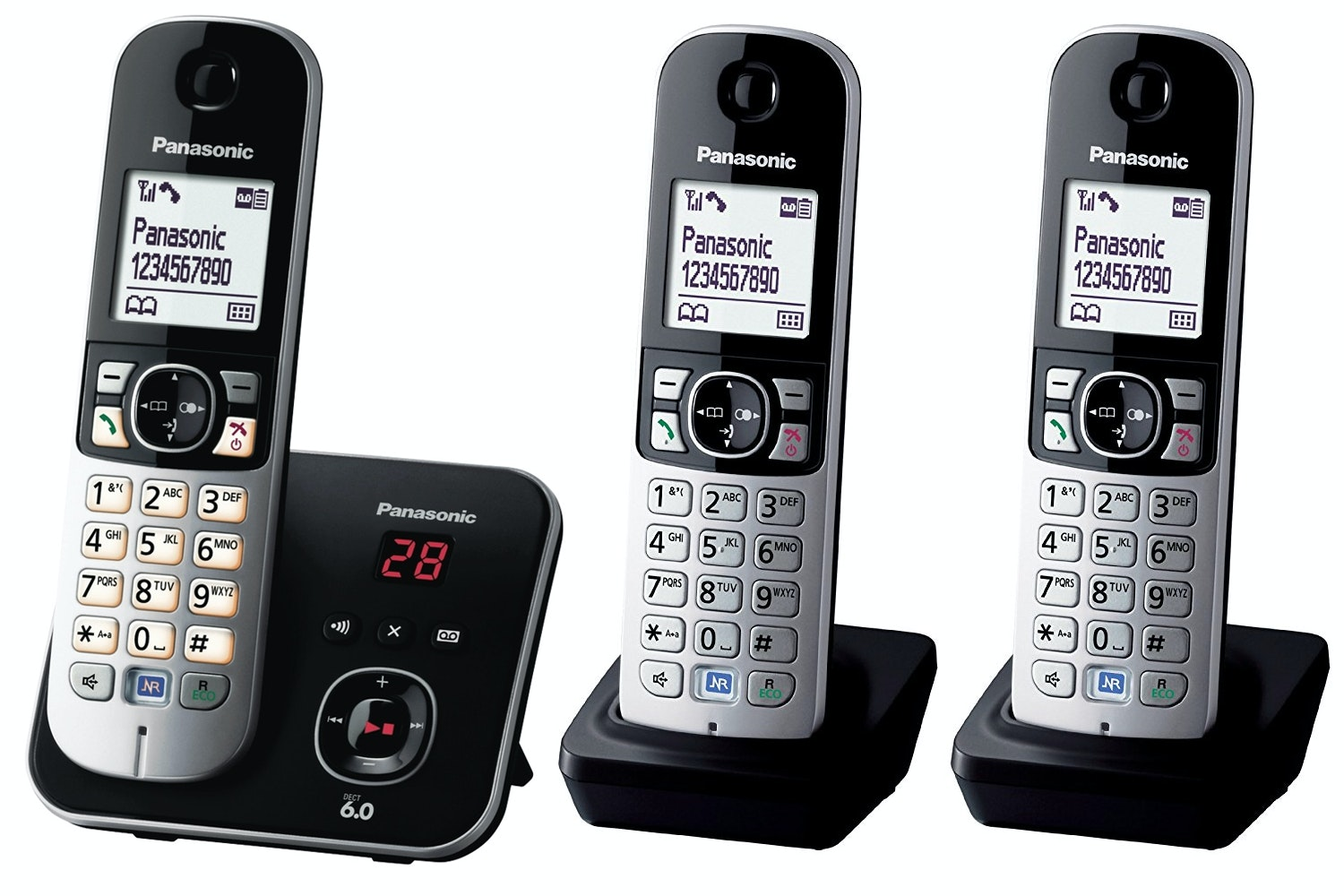 Panasonic 6823 Cordless Phone with Answering Machine | Trio