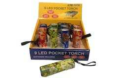 9 LED Floral Pockets Torch
