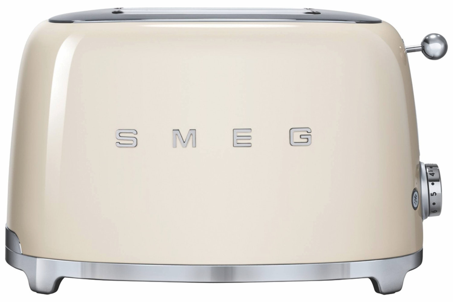 Smeg Retro 2 Slice Toaster | TSF01CRUK |  Cream
