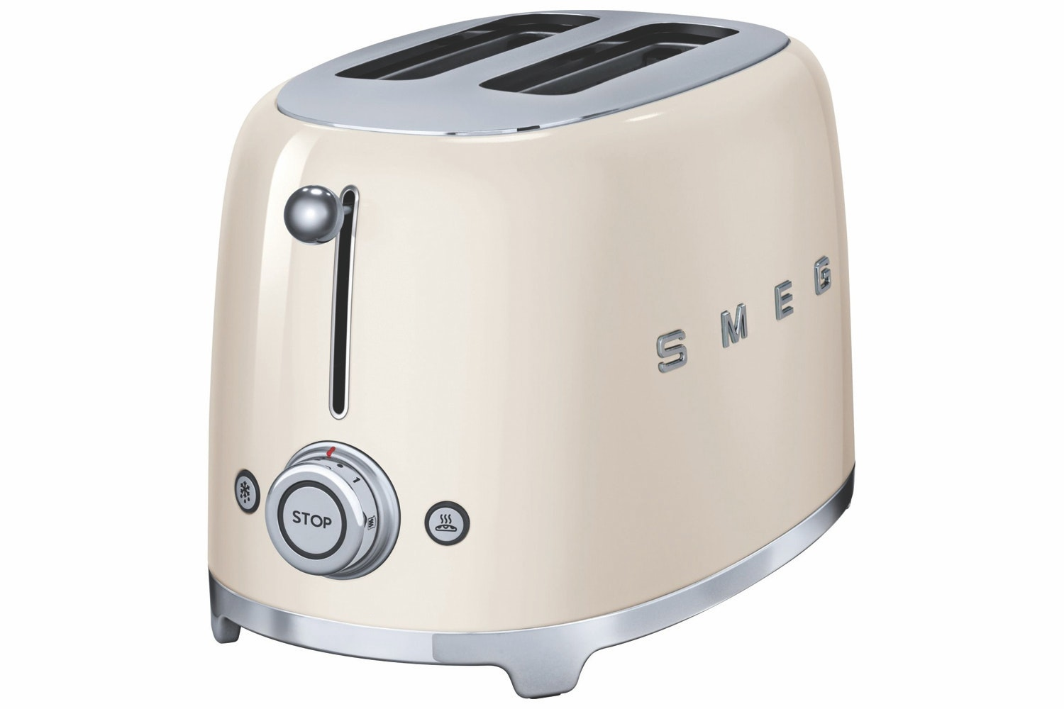 Smeg Retro 2 Slice Toaster | Cream