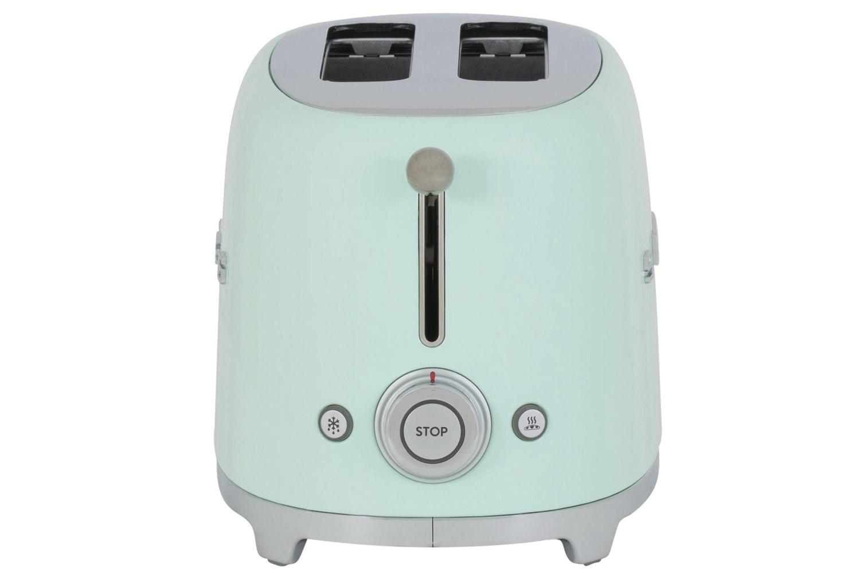 Smeg 2 Slice Toaster | Pale Green
