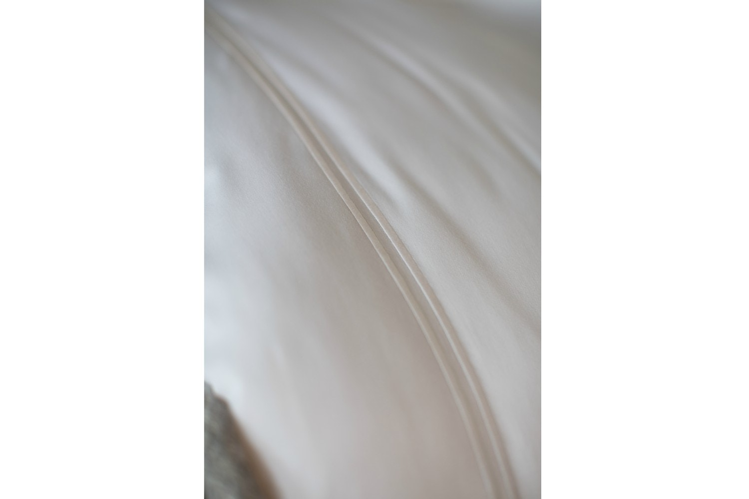 The Linen Room Clara White Duvet Cover | Double