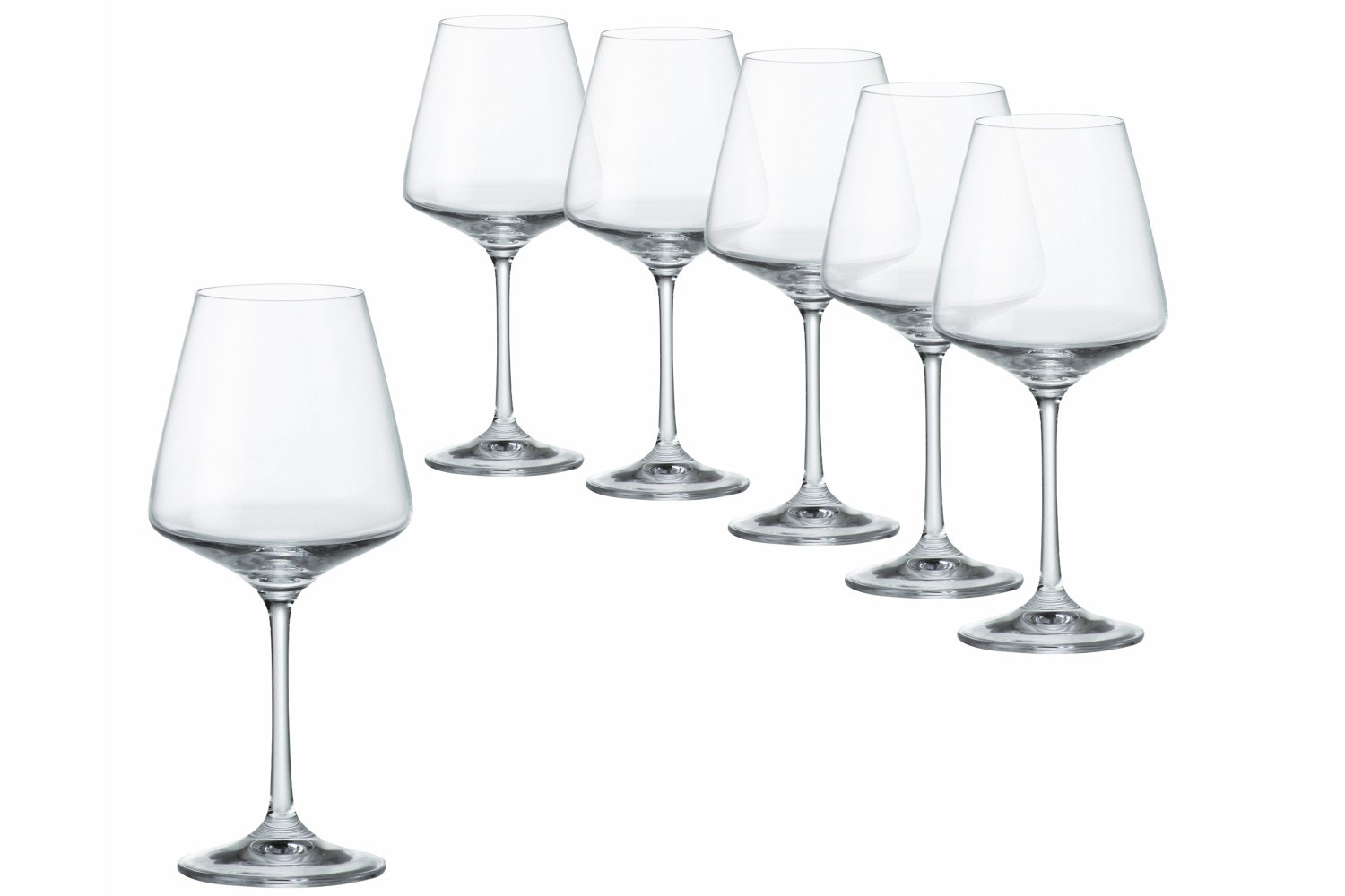 Sapphire Wine Glasses| Set of 6